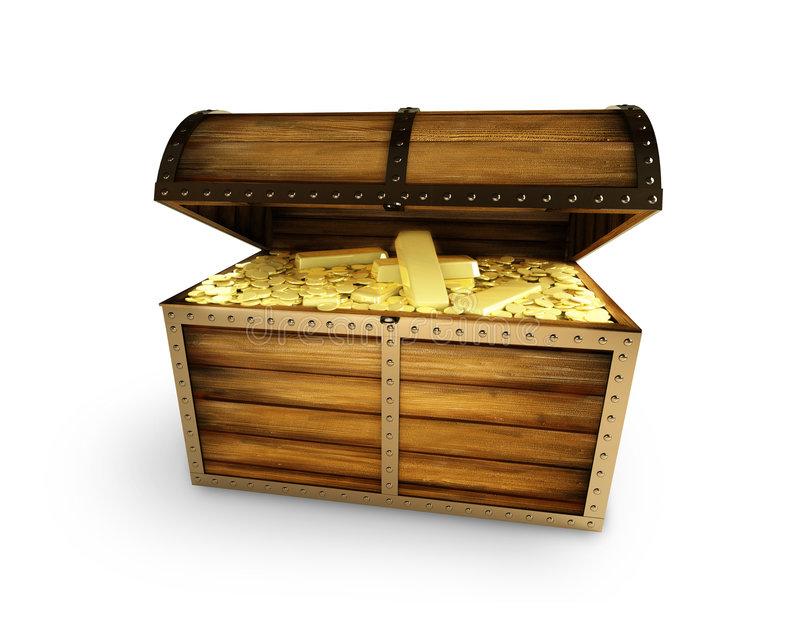 Treasure, Pirates Stock Photo
