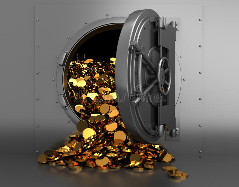 treasury διανυσματική απεικόνιση