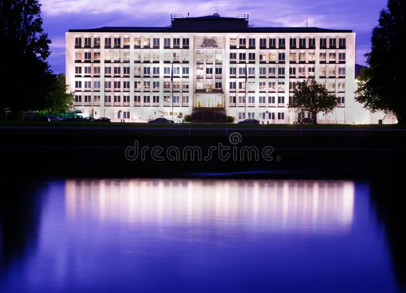 The Treasury Building royalty free stock photography
