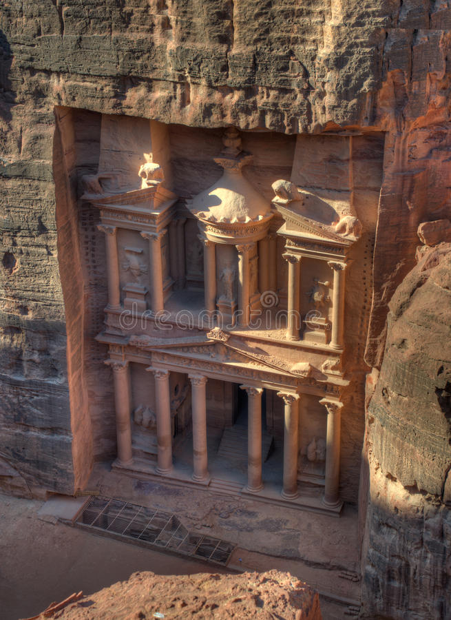 Download Treasury of Petra stock image. Image of camel, culture - 22472905