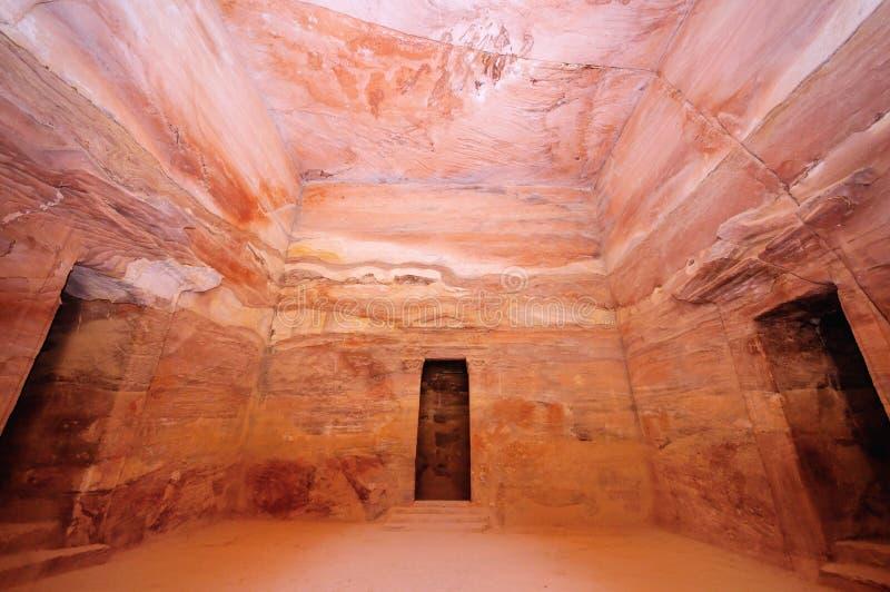 The Treasury, Petra, Jordan stock photography
