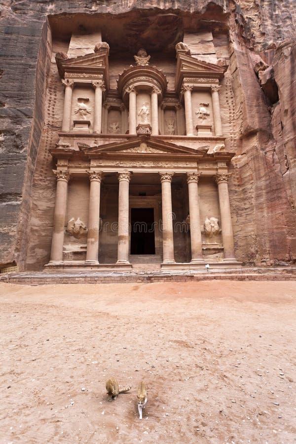 Download The Treasury In Petra - Jordan Stock Photo - Image: 23648210