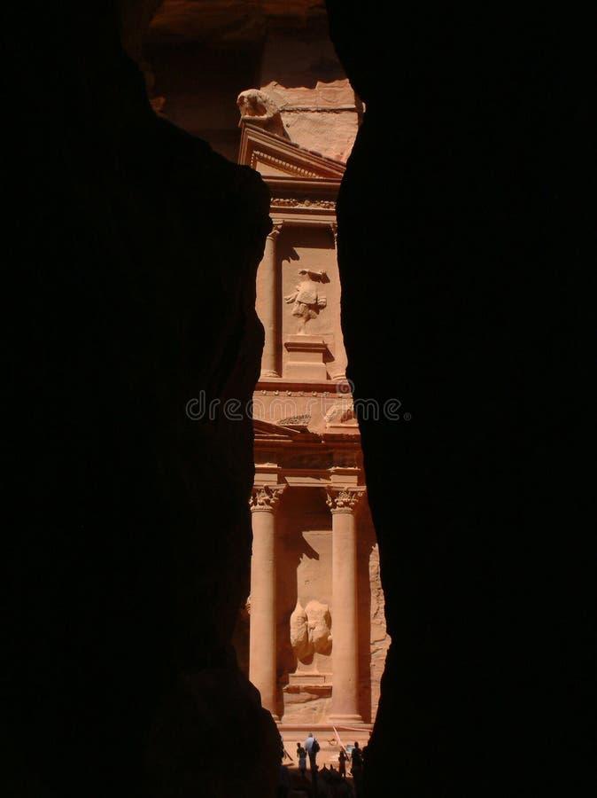 The Treasury, Petra, Jordan royalty free stock photos