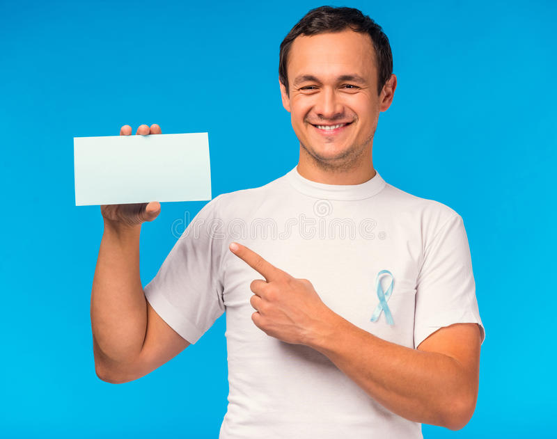 Treat male diseases stock images