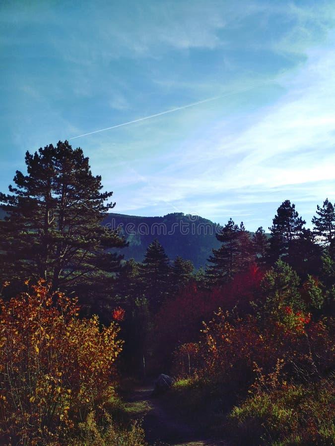 Trebevic góra 2 zdjęcia stock