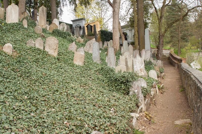 Download Trebic, Czech Republic, April 23, 2016: Old Jewish Cemetery, The Old Jewish Part Of The City Trebic Is Listed Among UNESCO Stock Photo - Image of historical, april: 70403934