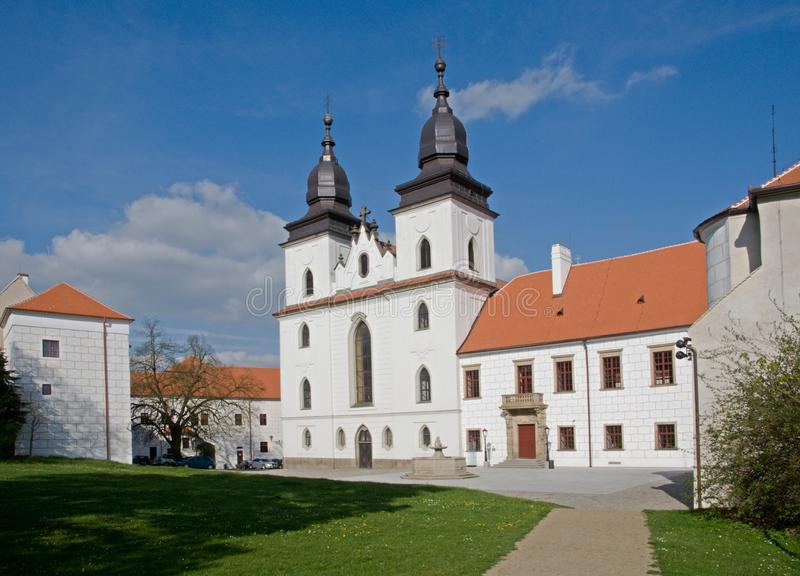 Trebic, République Tchèque photographie stock
