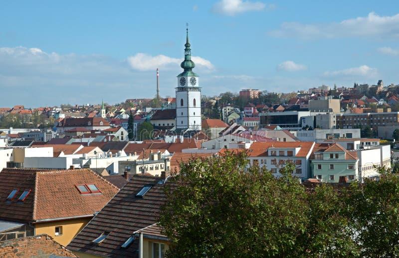 Trebic, República Checa fotografía de archivo