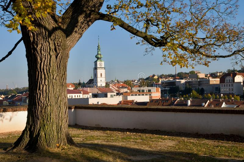 Trebic, republika czech zdjęcia royalty free