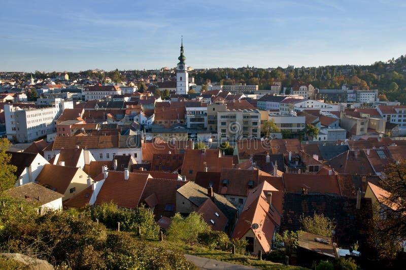 Trebic Tjeckien arkivfoton