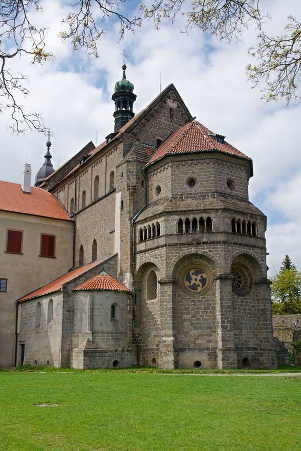 Trebic Tjeckien royaltyfri foto