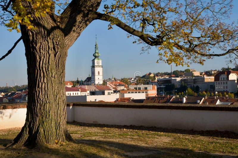 Trebic, Tsjechische Republiek royalty-vrije stock foto's