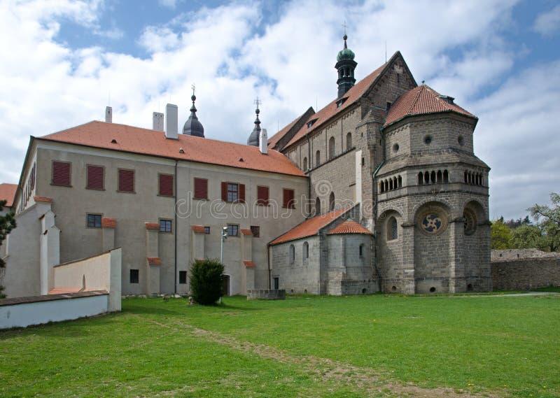 Trebic, Tsjechische Republiek stock foto