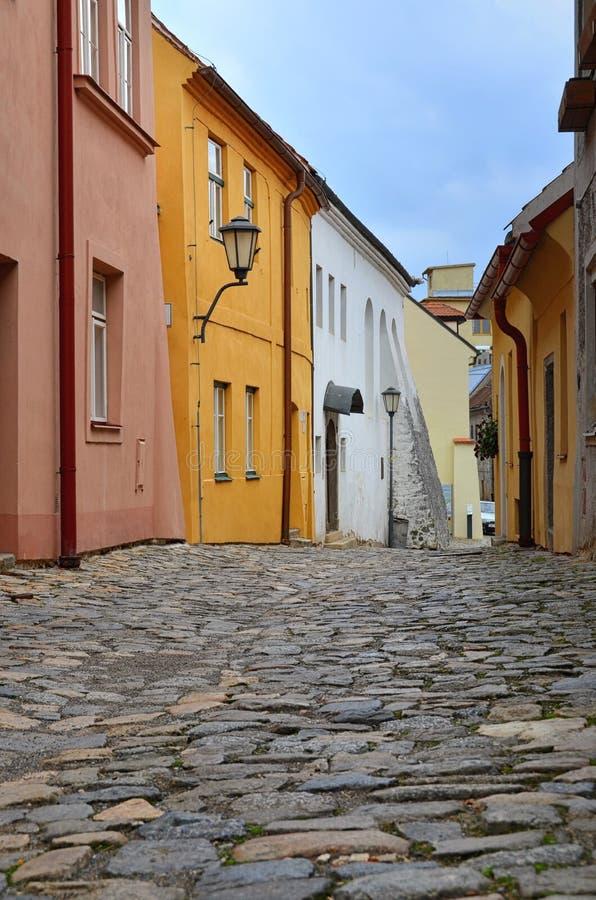Trebic Ville juive Trebic - patrimoine mondial de l'UNESCO image libre de droits