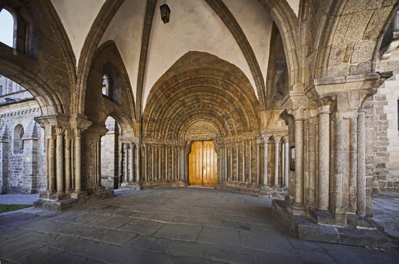 Trebicst Prokopius kerk royalty-vrije stock afbeelding