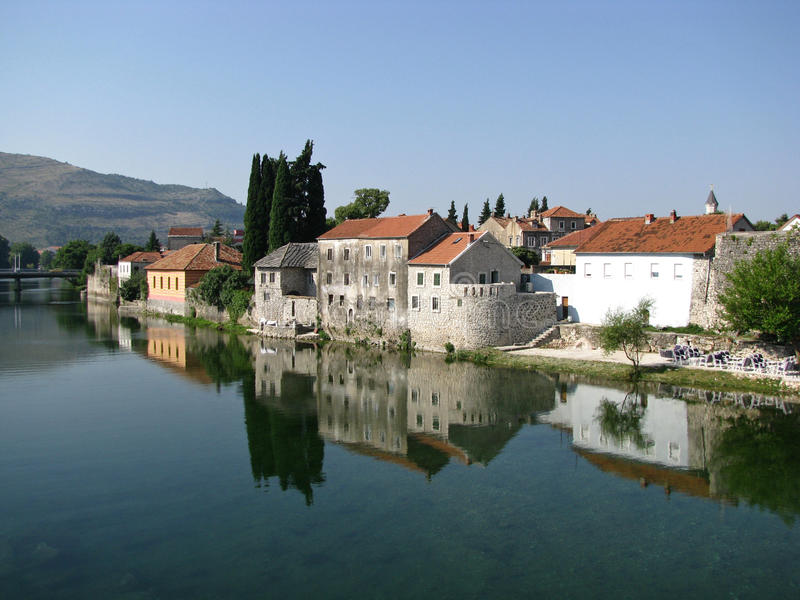 Trebinje old town royalty free stock photo