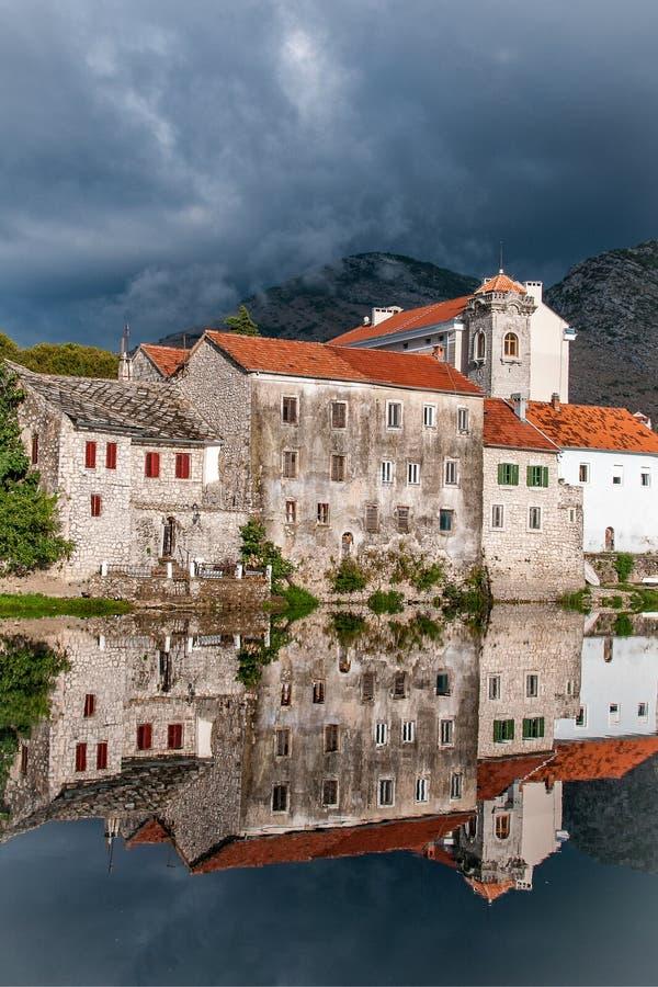 Trebinje, una città in Bosnia-Erzegovina fotografia stock