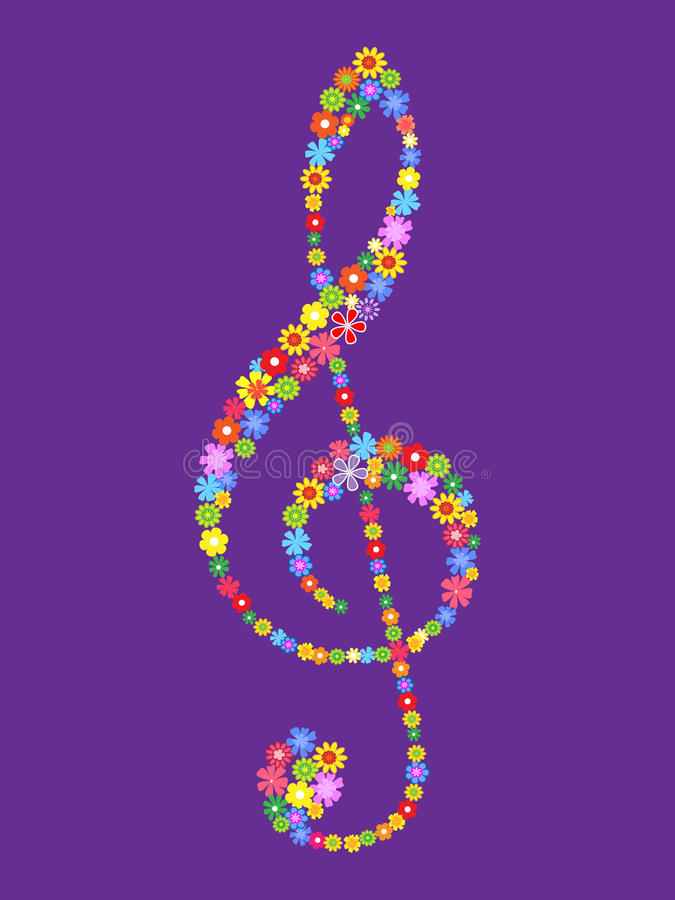 Download Treble Clef Royalty Free Stock Images - Image: 20058639