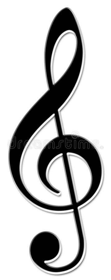 Free Treble Clef Stock Photos - 650943