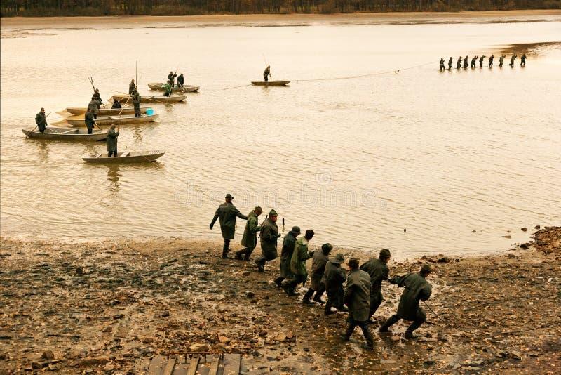 TREBON, ΔΗΜΟΚΡΑΤΊΑ ΤΗΣ ΤΣΕΧΊΑΣ - το Δεκέμβριο του 2014 - λίμνη Svet σε Trebon στοκ εικόνα με δικαίωμα ελεύθερης χρήσης
