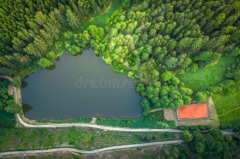 Trebon region w republika czech obrazy royalty free