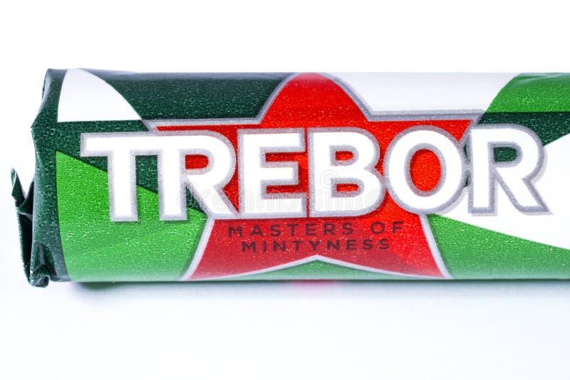 Trebor Brand Logo photos libres de droits