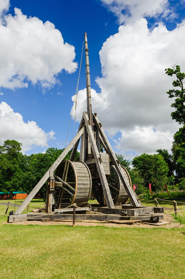 Download Trebuchet stock photo. Image of ancient, architectural - 35861124