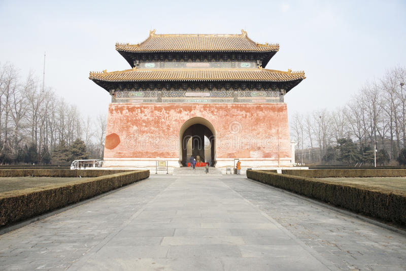 Trece tumbas de Ming Dynasty foto de archivo
