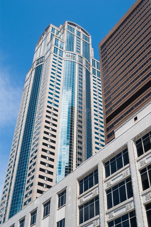 Tredje torn för aveny 1201, Seattle, WA royaltyfri bild