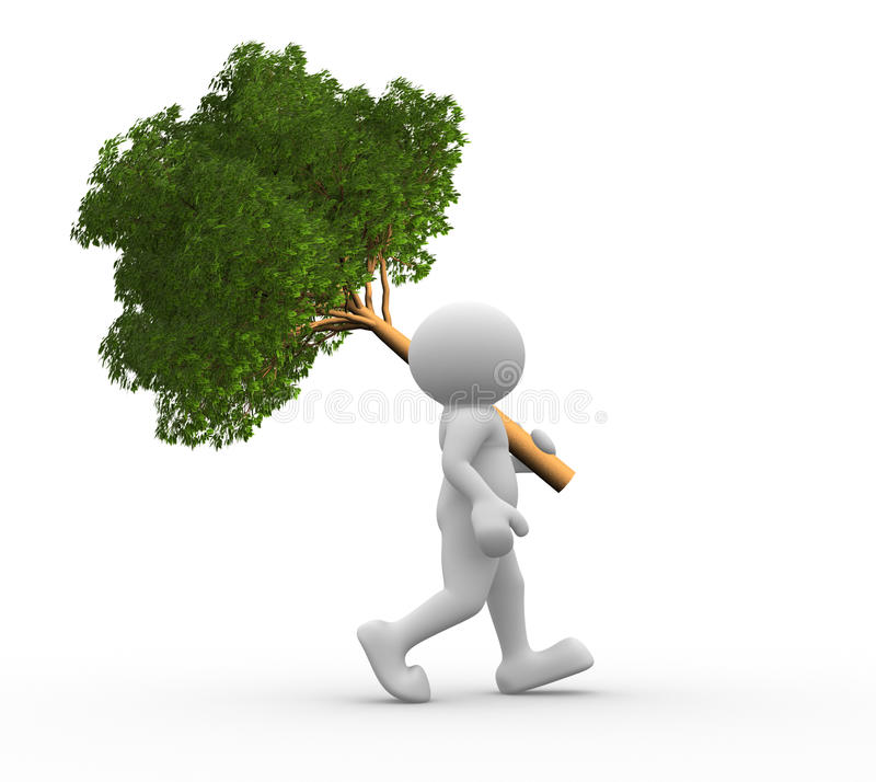 Tree stock illustration