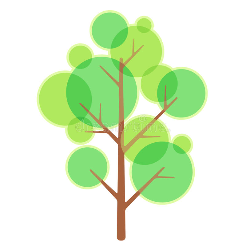 Download Tree stock illustration. Image of green, decoration, vector - 23637854