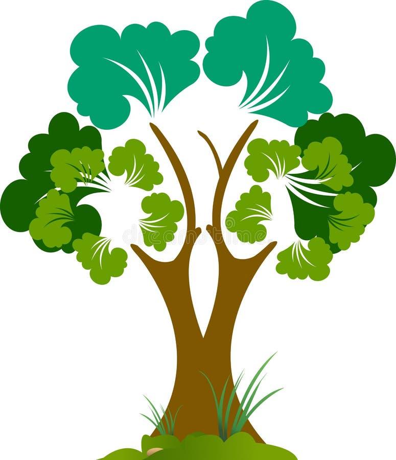 Download Tree stock vector. Illustration of island, garden, background - 25929832