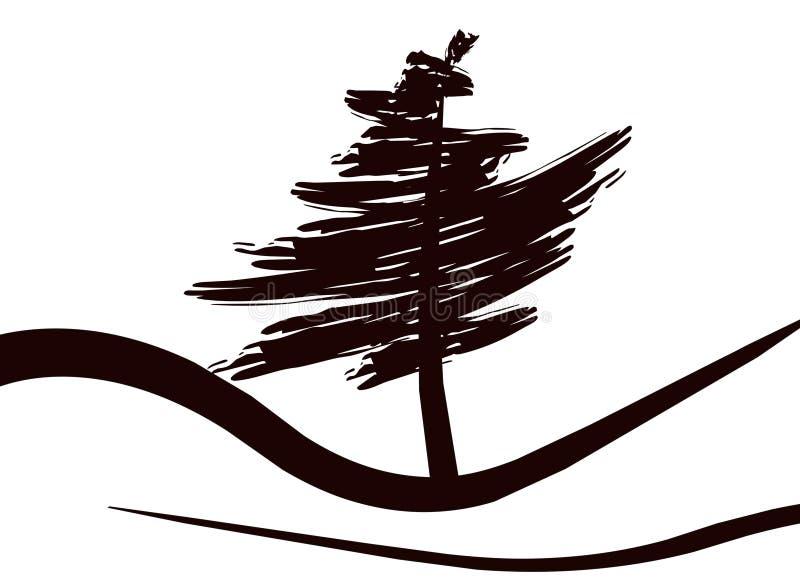 Download Tree stock illustrationer. Illustration av trä, skugga - 283731