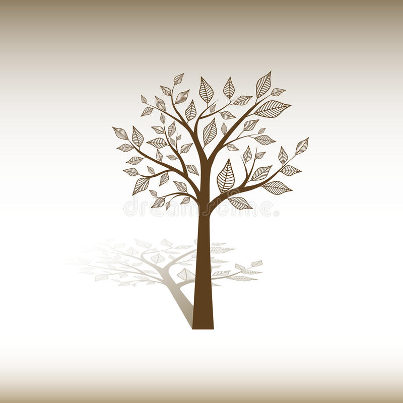 Download Tree stock vector. Image of beautiful, sign, abstract - 28617697