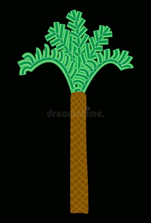 Download Tree stock illustration. Illustration of palm, illustration - 330455