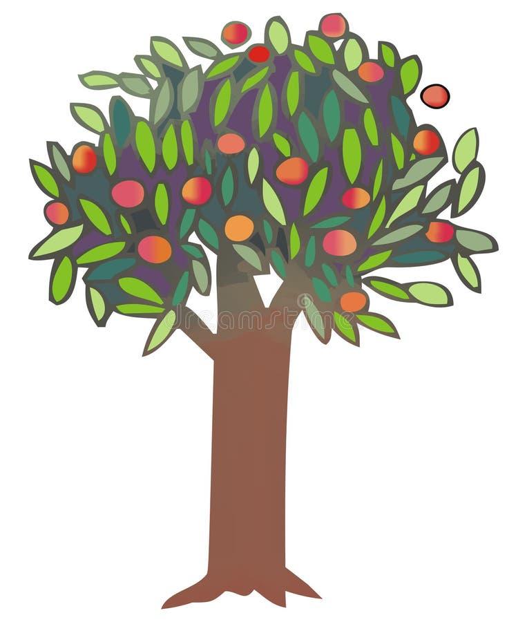 tree vektor illustrationer