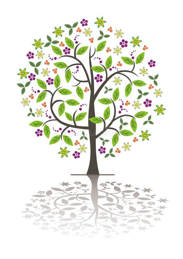 Tree. stock illustration