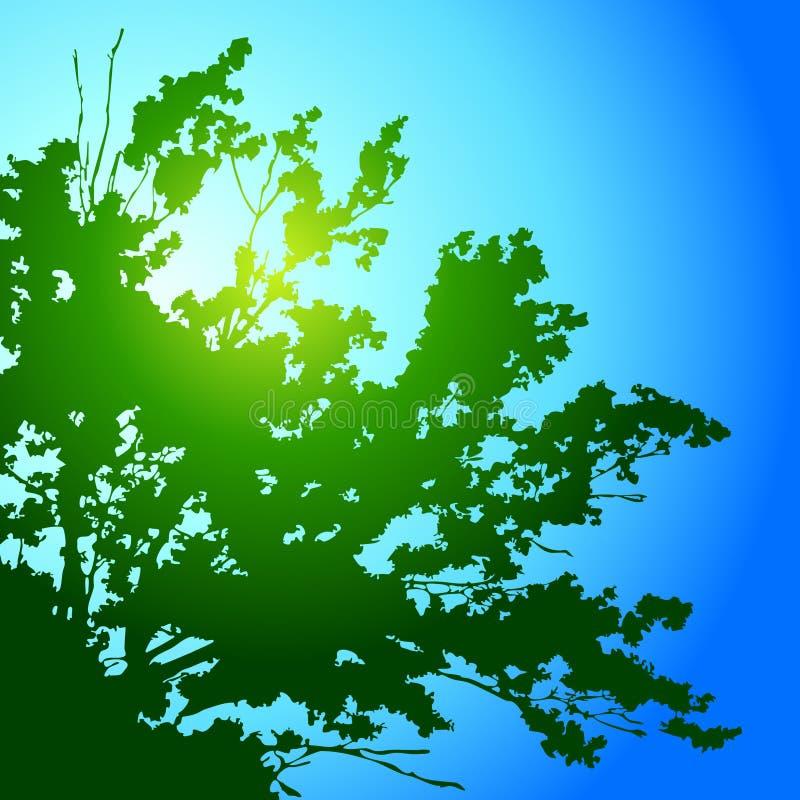 Download Tree stock vector. Image of illustration, design, grass - 9608687