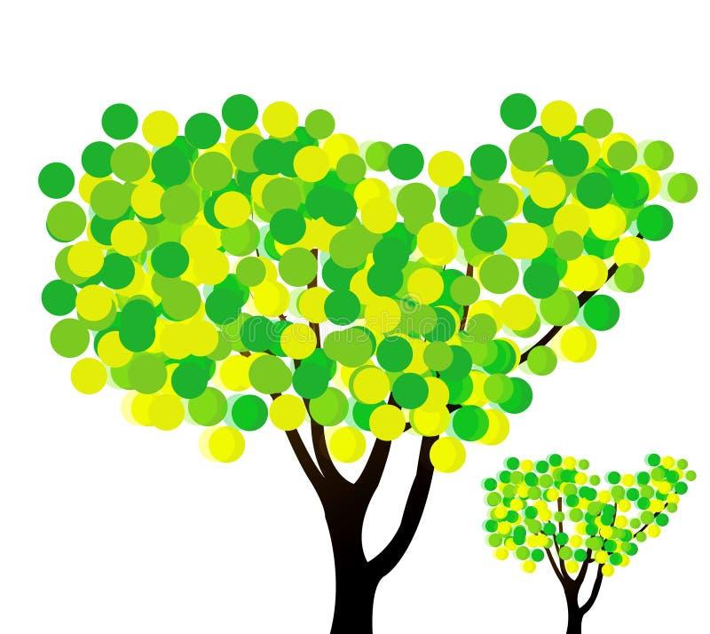 tree stock illustrationer
