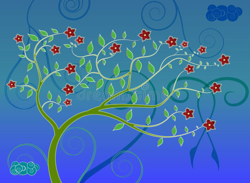 Tree Art Royalty Free Stock Images