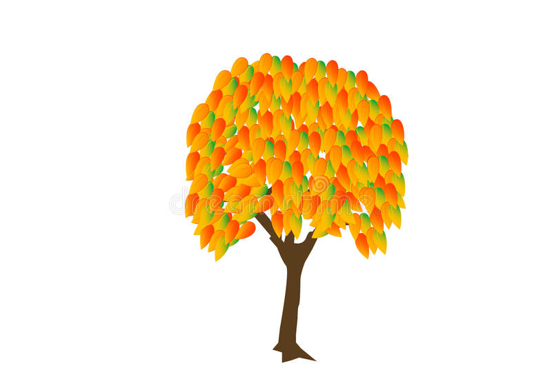 Download Tree_autumn stock vector. Image of image, computer, symbol - 13544241