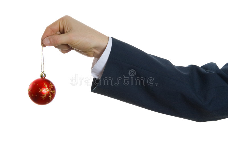 Download Tree ball stock image. Image of christmas, hand, work - 1523583