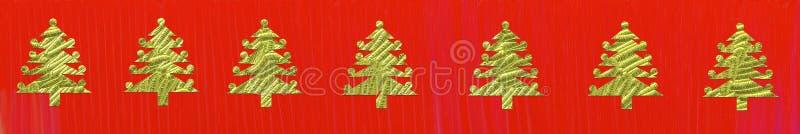 Tree border royalty free illustration