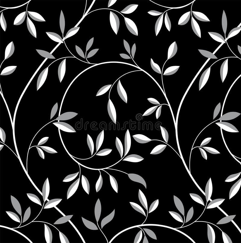 Tree branch pattern royalty free illustration
