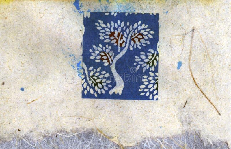 Download Tree Collage stock illustration. Illustration of blue, background - 108992