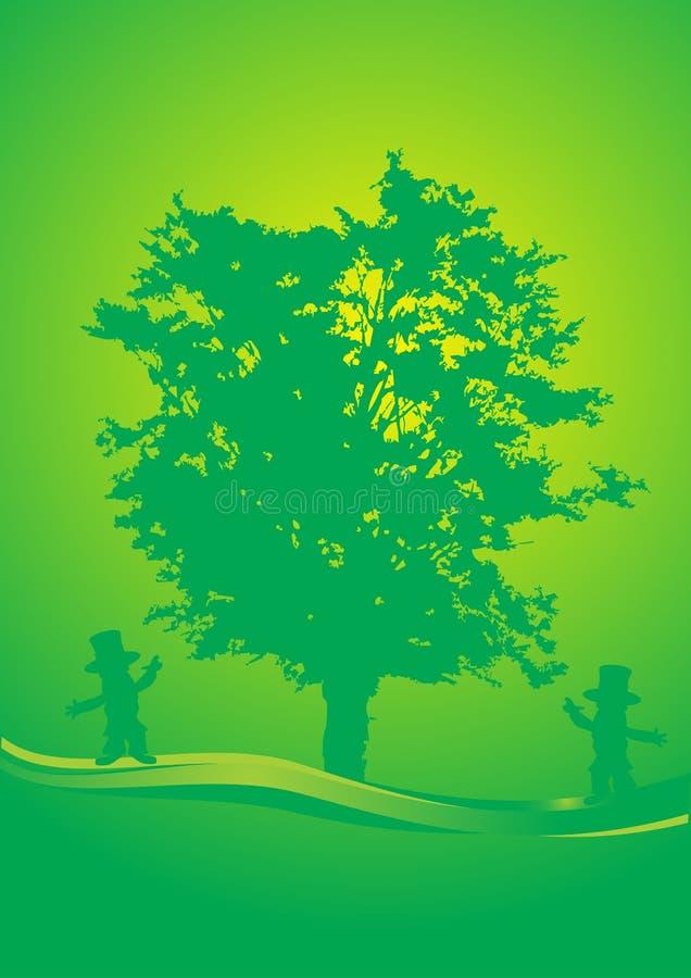 Free Tree Dance Stock Image - 4493801