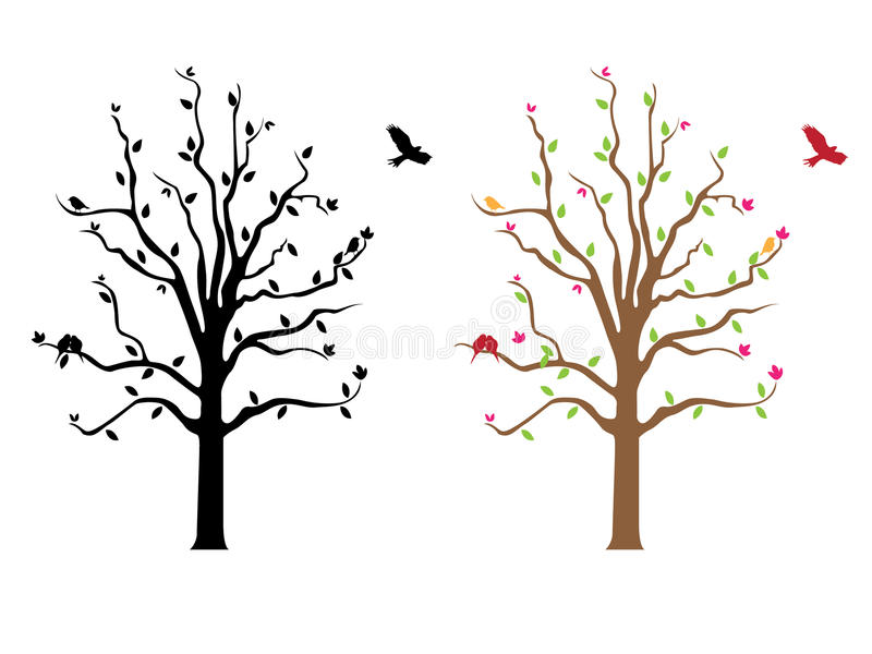 Tree Decal Artwork Stock Photography