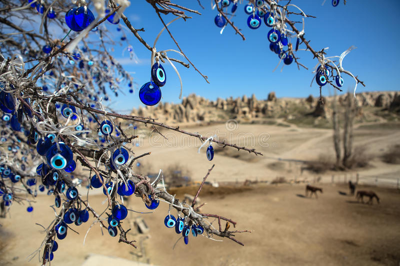 Tree with decorations royalty free stock photo