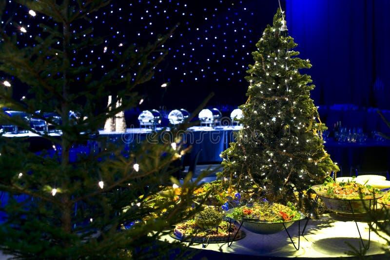 tree för julmatdeltagare