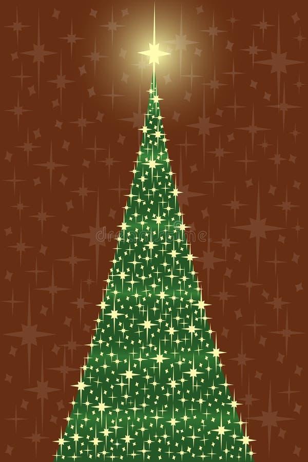 Download Tree För Kortcrhistmasstjärna Stock Illustrationer - Illustration av bokstav, stjärna: 3544353